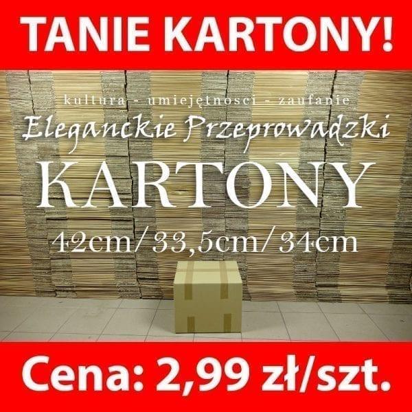 Kartony do przeprowadzki, Pudła przeprowadzkowe Warszawa