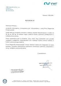 20200124 Referencje VWR